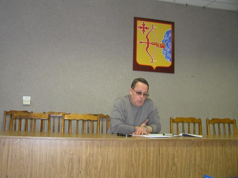 Заместитель главы департамента Андрей Николаевич Чемоданов. Фото Целищевой Л.Г.