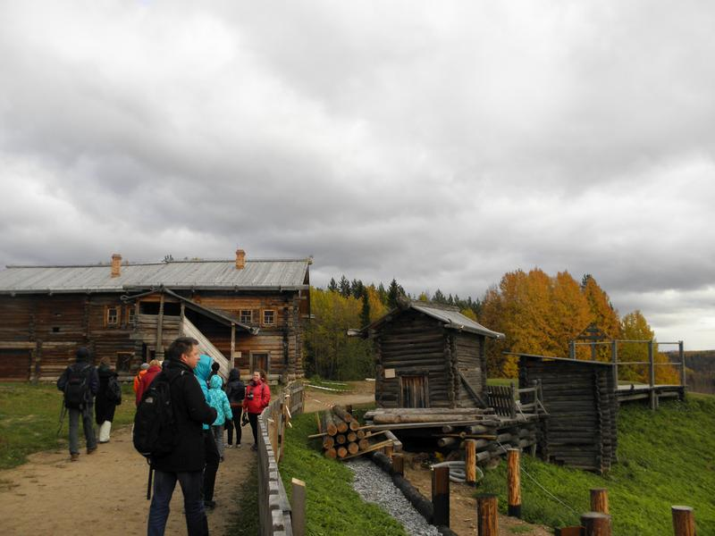 Экскурсия на территории музея деревянного зодчества Малые Корелы