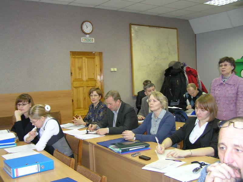На заседании комиссии по Красной Книге Кировской области. Фото Целищевой Л.Г.