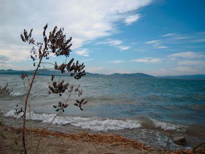 Озеро Иткуль. Хакасский заповедник