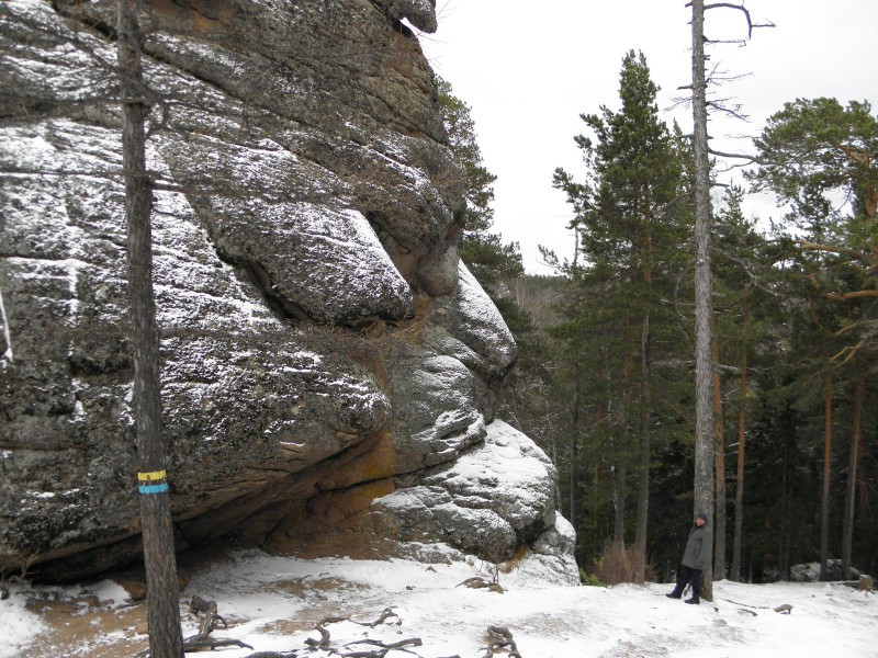 Скала Львиные ворота. Фото Л.Г. Целищевой