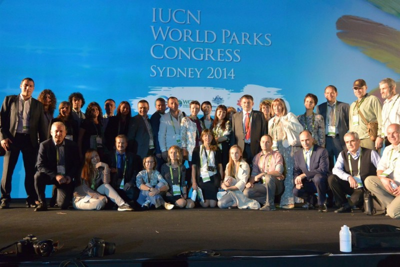 Российская делегация на Шестом Всемирном конгрессе по особо охраняемым природным территориям в австралийском Сиднее