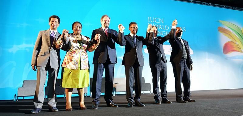 Министр МПР РФ С. Донской с участниками  Конгресса