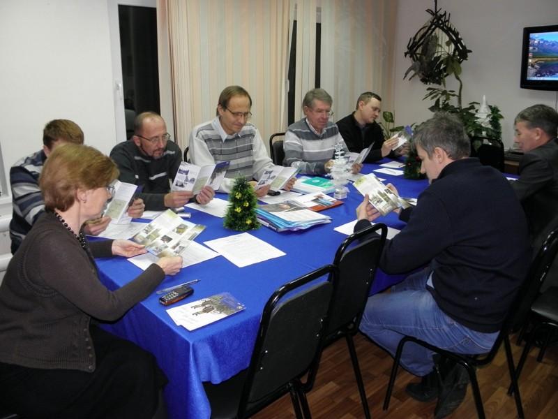 НТС заповедника Нургуш 26.12.2014