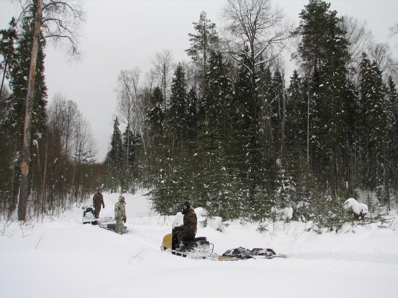 На маршруте. Фото В.М. Рябова