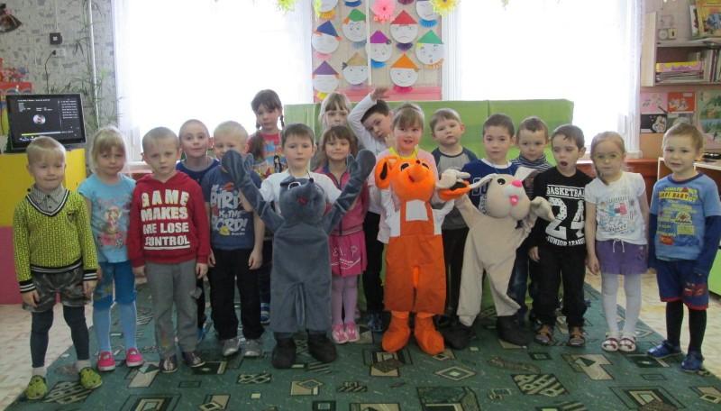 Воспитанники детского сада д. Калачиги. Фото Е.В. Князевой