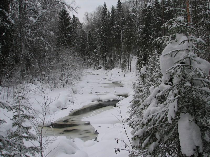 Зимняя Федоровка. Фото В.М. Рябова