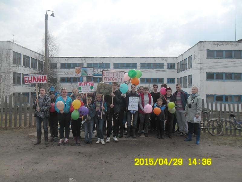 Школа в п. Заря, Опаринский район