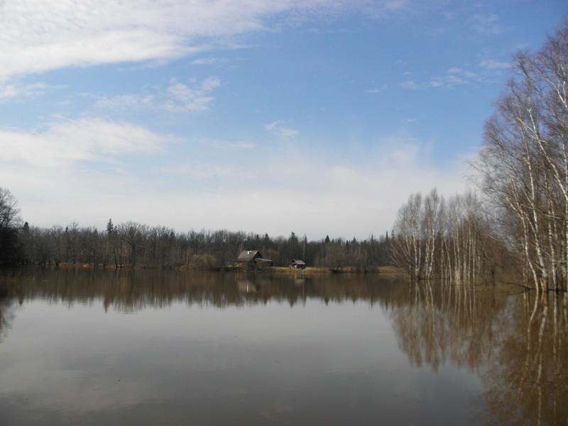 Весна на кордоне. Фото Л.Г. Целищевой