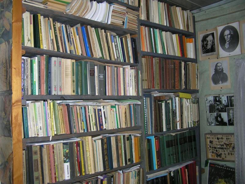 Часть личной библиотеки Г. И. Юферева. Фото Л.Г. Целищевой
