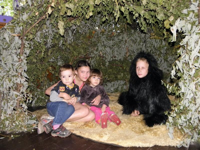 Дети и Йети. Фото Л.Г. Целищевой
