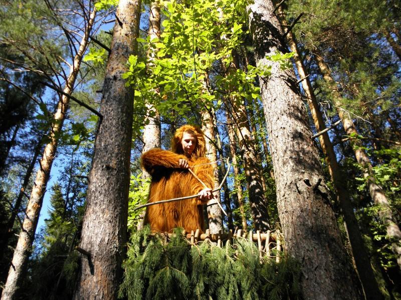 Йети вышел на охоту. Фото Л.Г. Целищевой
