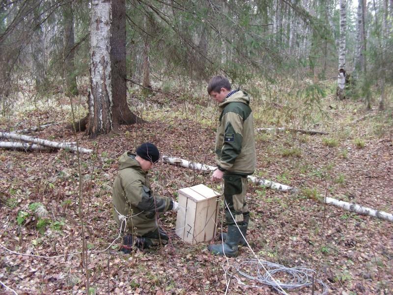 Процесс подготовки. Фото С. В. Кондруховой