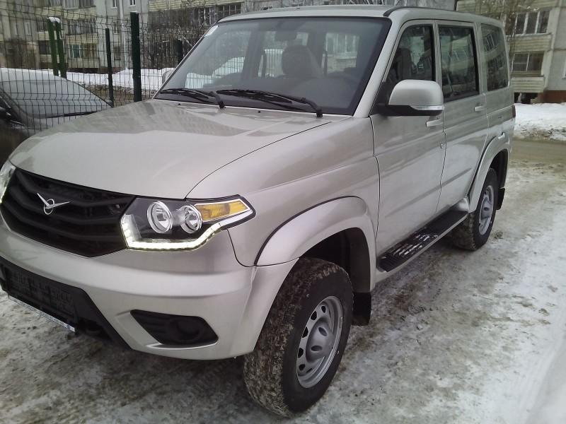 Новый УАЗ Патриот Фото Е.В. Князевой