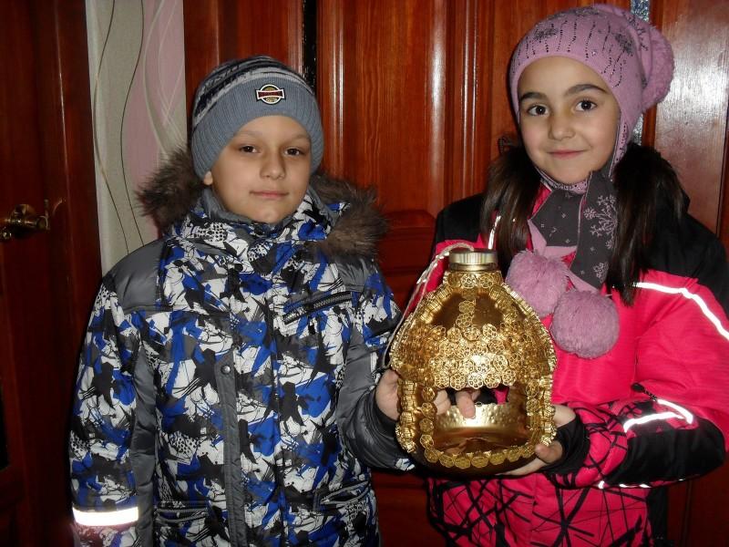 3 место - Потапов Максим 8 лет и Мошонкина София, 7 лет пгт Мурыгино, Юрьянский р-н