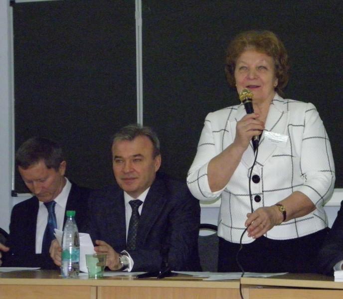 Открытие конференции Т.Я. Ашихминой. Фото Л.Г.Целищевой