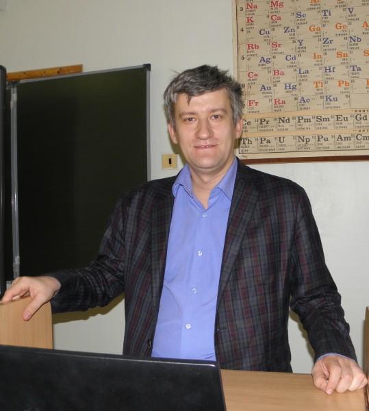 Ведущий секции Экология и биология животных С.В. Пестов. Фото Л. Г. Целищевой