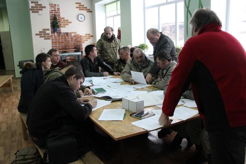Практическое занятие по составлению протоколов об административных правонарушениях. Фото Е.В. Князевой