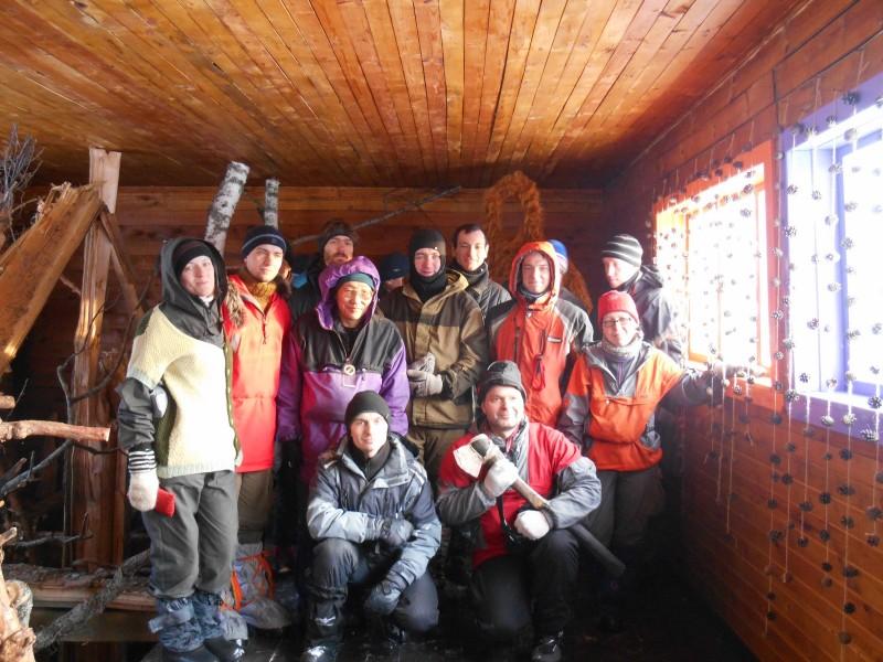 Туристы клуба АБРИС г. Королёв. Фото Е. В. Князевой