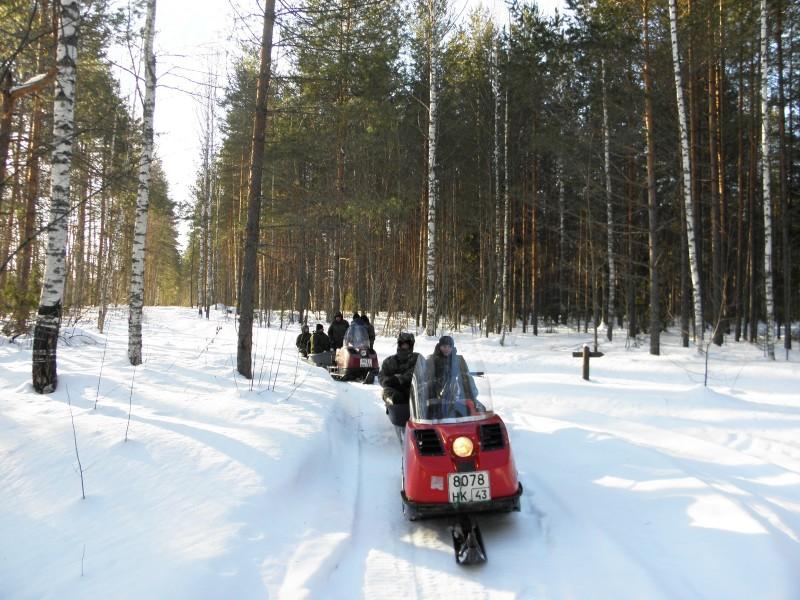 Зимние маршрутные учеты. Фото Л. Г. Целищевой
