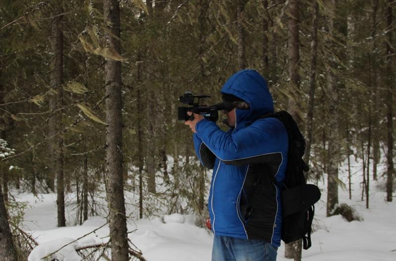 Съемка фильма о тулашоре. Фото Е. В. Князевой