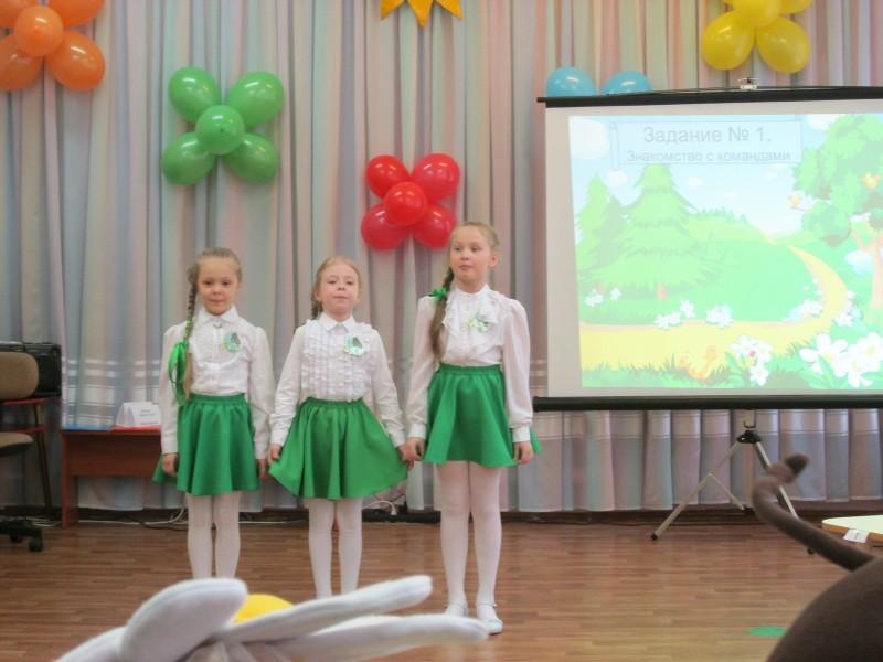 Команда Берёзоньки. Фото Ю. С. Рогожкиной