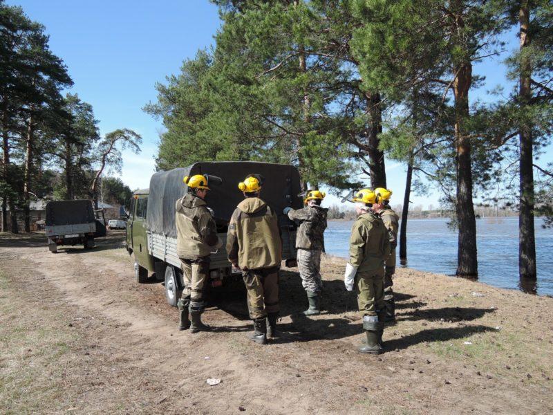 Малый лесопожарный комплекс. Фото Е. М. Тарасовой