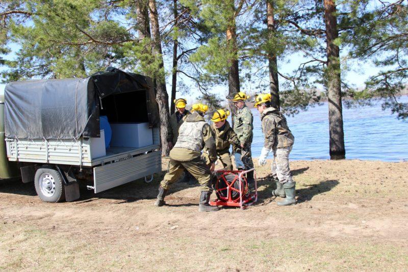 Пожарная бригада. Фото Е. В. Князевой