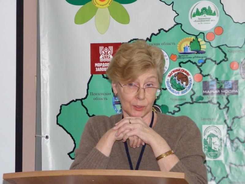 Выступление Е. М. Тарасовой на ассоциации. Фото Л. Г. Целищевой