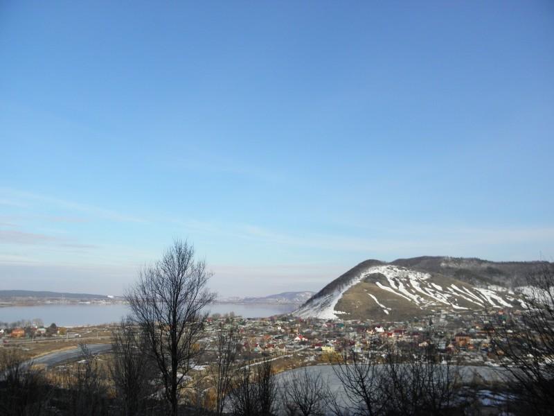 Жигулёвские горы в с. Ширяево. Фото Л. Г. Целищевой
