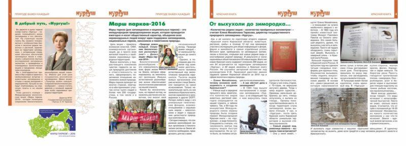 """Газета """"Нургуш"""" 1 сторона"""