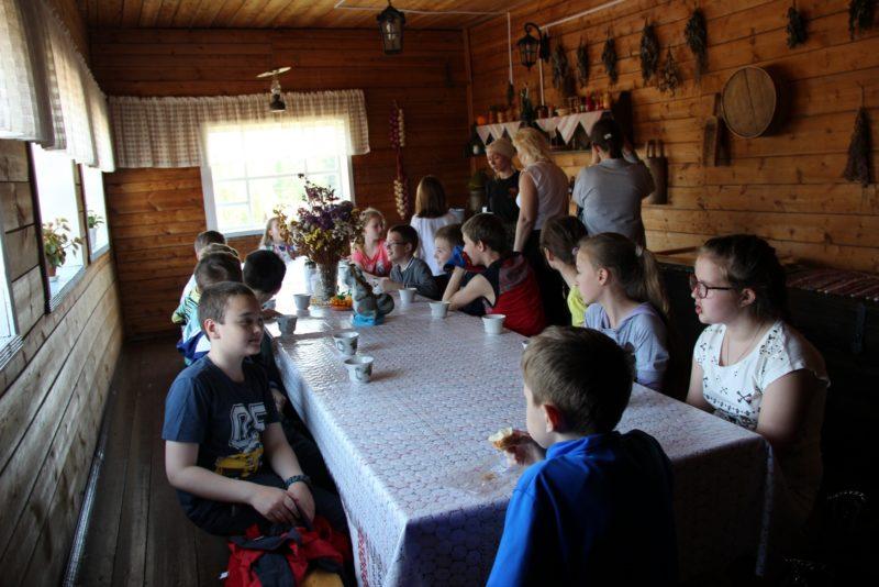 Чаепитие. Фото Е. В. Князевой