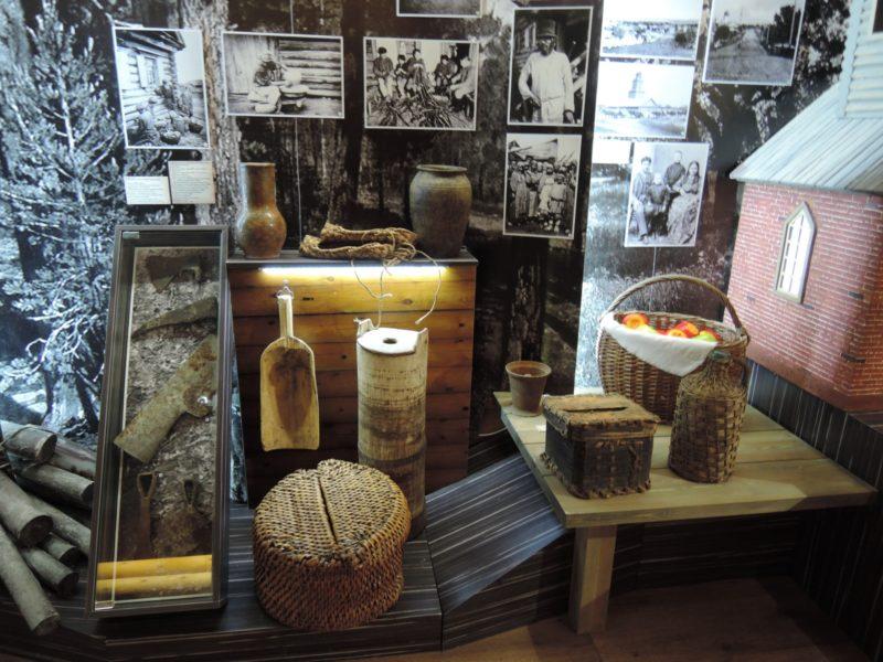 Фрагмент экспозиции музея НП Хвалынский. Фото Е. М. Тарасовой