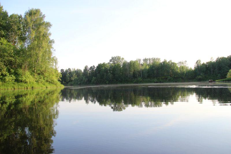 Вечер на озере. Фото Е. В. Князевой