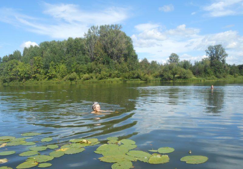 На озере Старице. Фото Ю. С. Ковровой