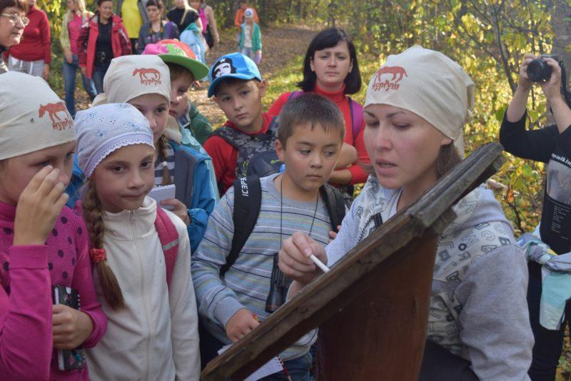 Экскурсия по экологической тропе Заячья поляна