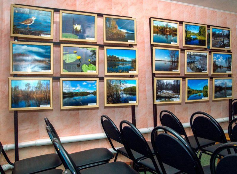 Выставка ,,Голубые озёра ,,Нургуша,,. Фото Е. П. Кондруховой