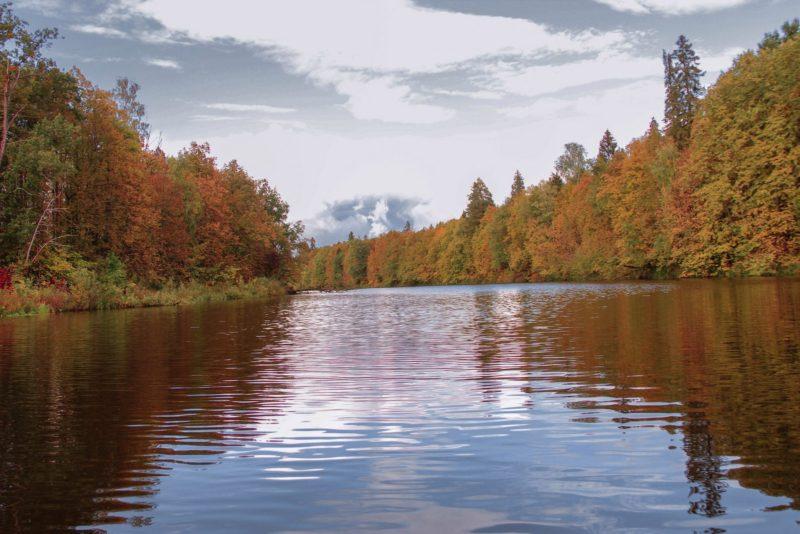 Осенний пейзаж Нургуша. Фото Е. В. Князевой