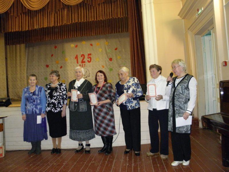 Пенсионеры-активисты клуба Завалинка. Фото Л. Г. Целищевой