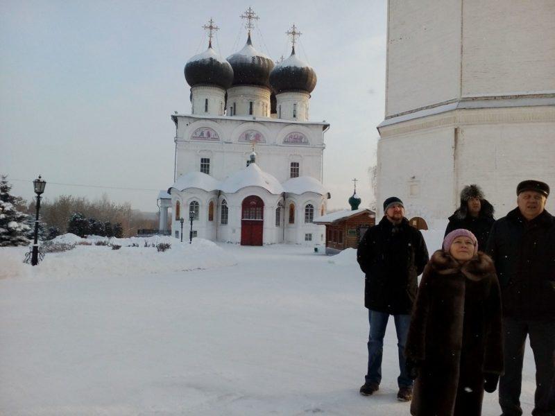 Участники конференции на экскурсии по г. Кирову. Фото Л.Г. Целищевой