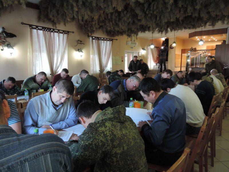 Зачет по административной практике. Фото Е. М. Тарасовой