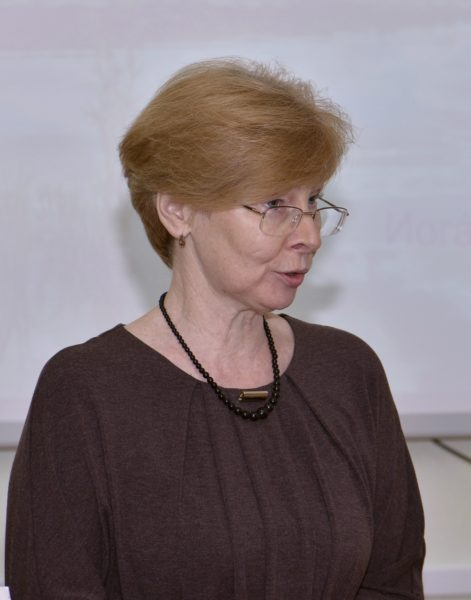Е.М. Тарасова представила проект плана работы заповедника на 2017 год. Фото Л.Г. Целищевой
