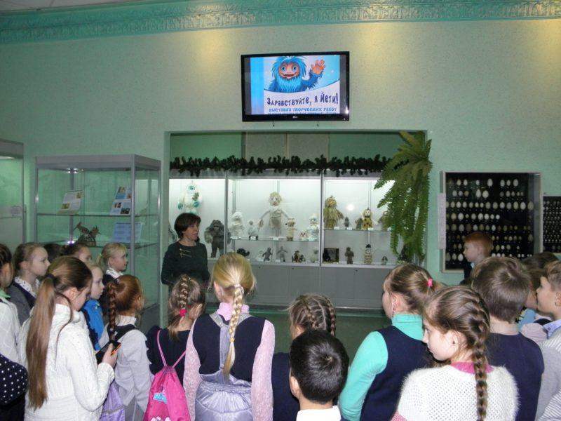 Т. И. Кочурова открывает выставку. Фото Л. Г. Целищевой