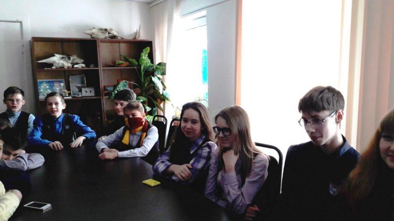 Воспитанники клуба ,,Факел,,. Фото М. Н. Владыкиной