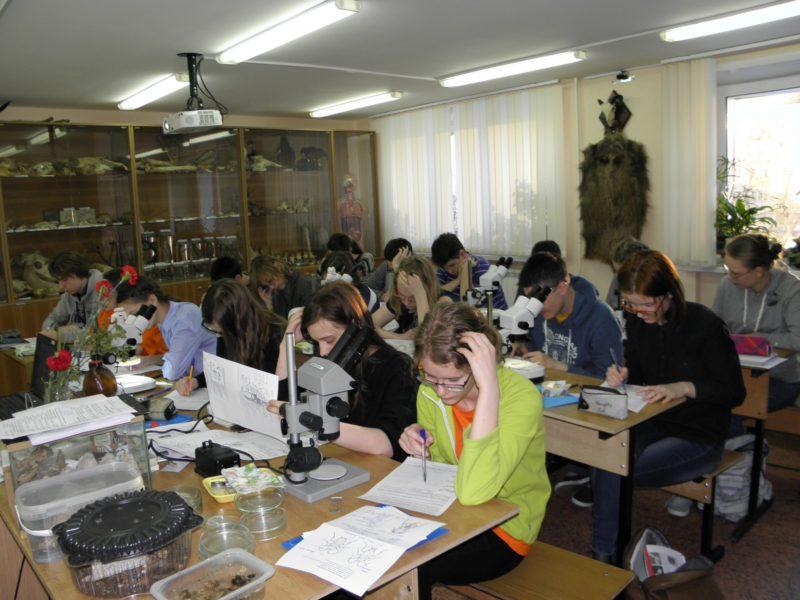 9 класс на учебно-тренировочных сборах. Фото Л.Г. Целищевой