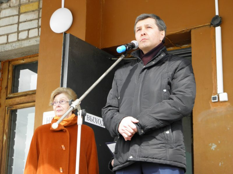 Глава Нагорского района В. Е. Булычев. Фото Л. Г. Целищевой