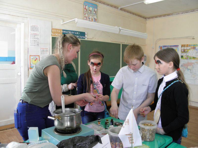 Мастер-класс изготовление домашнего мыла. Фото Л. Г. Целищевой
