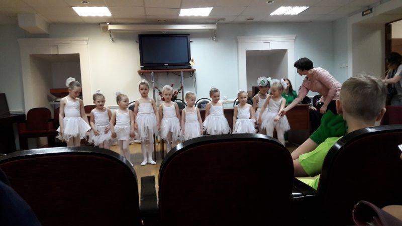 Выступление детского коллектива
