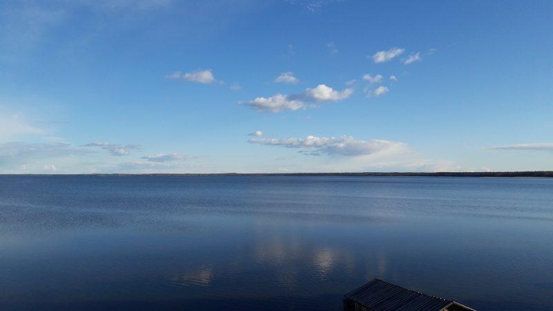Озеро Лекшмозеро. Фото М. Н. Владыкиной