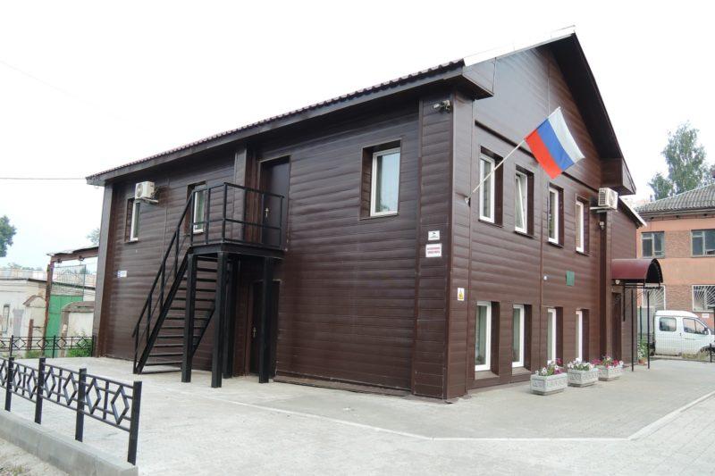 Здание администрации заповедника в г. Кирове